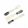 Bone Server Set (Spoon, Fork, Spreader)