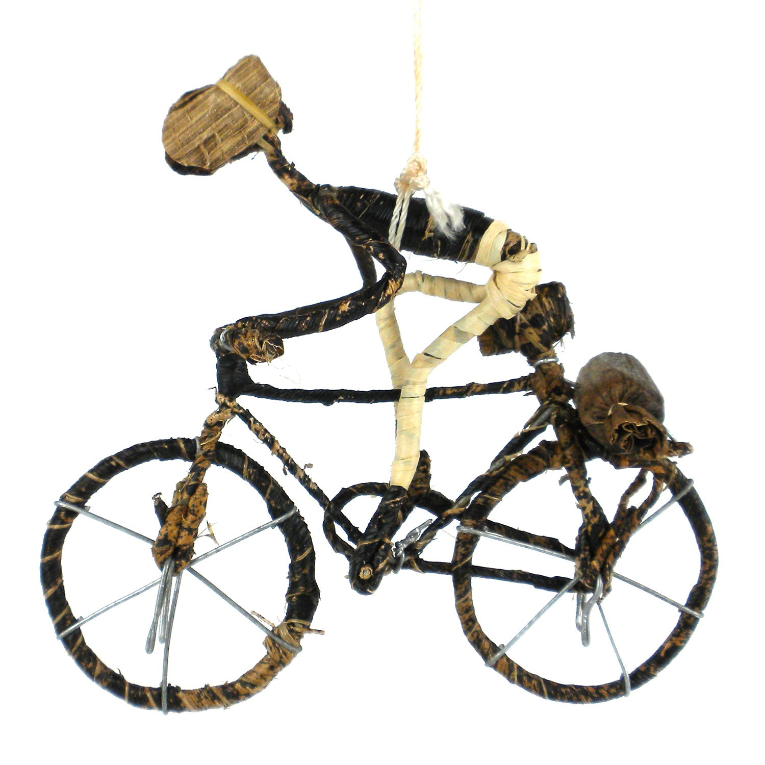 Banana Fiber Bike Ornament