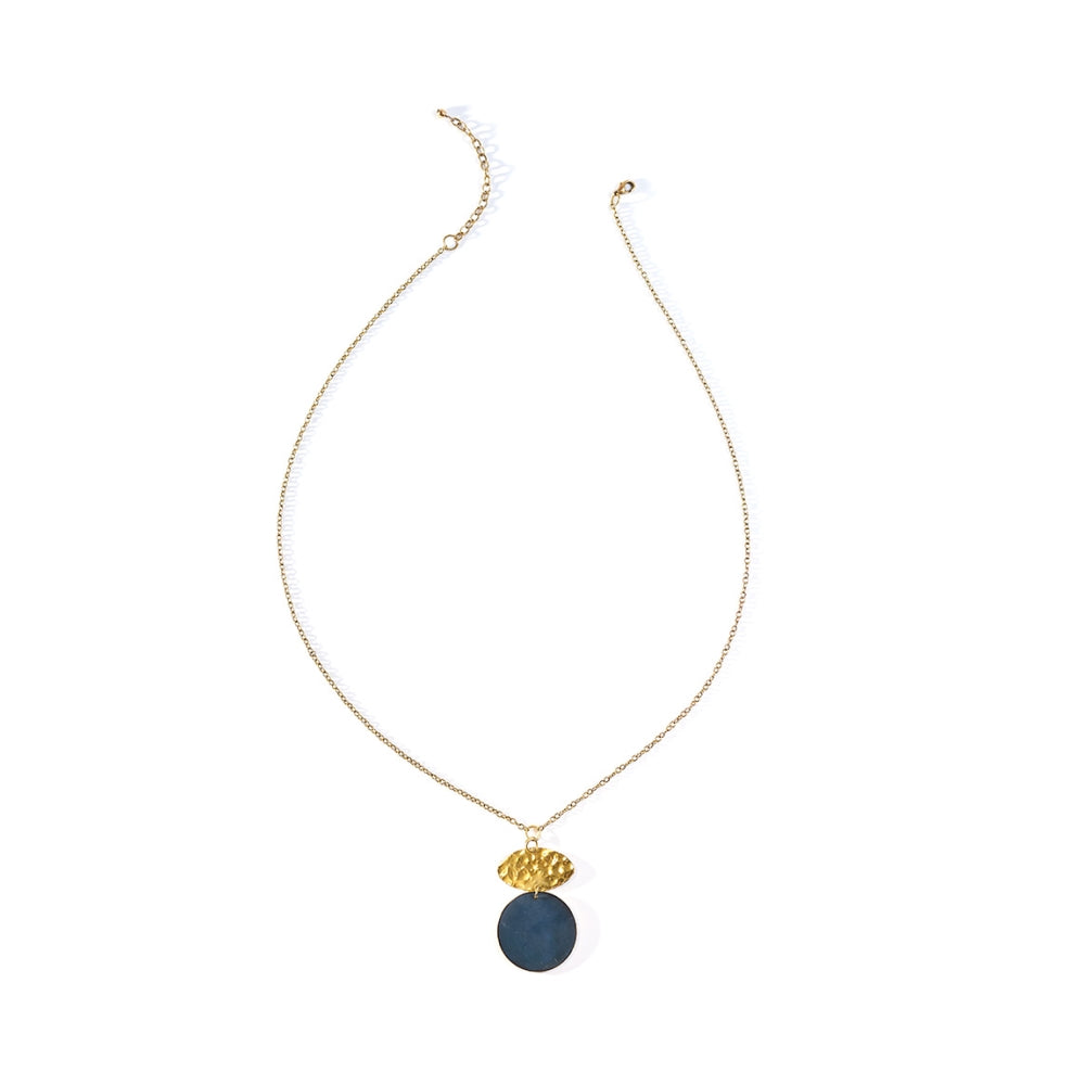Ria Necklace - Cobalt