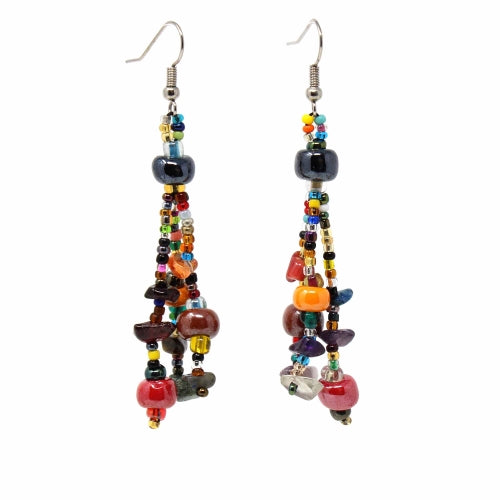 Beach Ball Earring - Multi