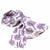 Printed Purple Tree of Life Design Cotton Scarf