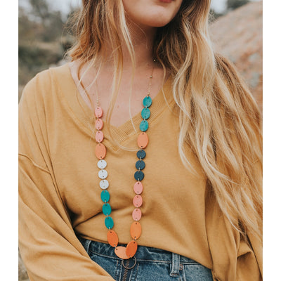Ria Necklace - Multi