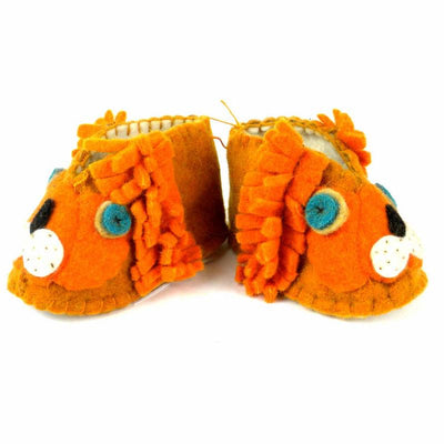 Lion Zooties Baby Booties