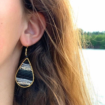 Earrings: Lauren Midnight