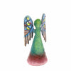 Angel Wings Down Haitian Steel Drum Tabletop Décor, 4""