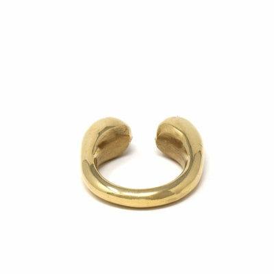 Brass Chunky Wrap Rings, Size 7