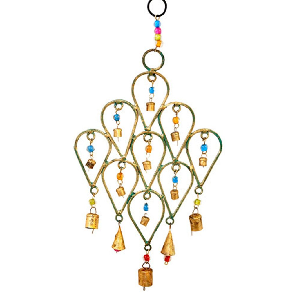 Beaded Chime Tear Drop Design