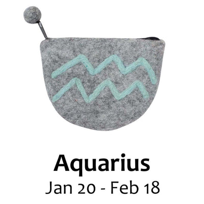 Zodiac Purse, AQUARIUS