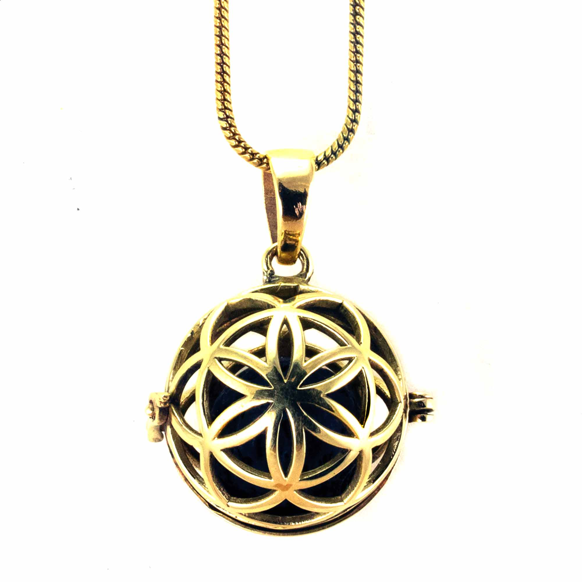 Diffuser Necklace - Seed of Life