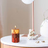 Single Boxed Hand-Painted Pillar Candle - Bongazi Design