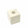 Cube Soapstone Candle Holder