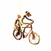Banana Fiber Bike Ornament - Two People