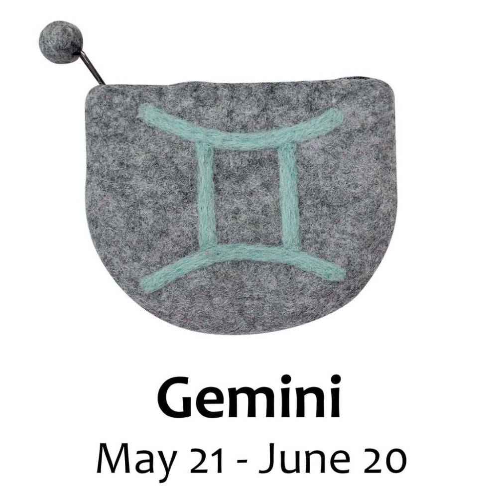 Zodiac Purse, GEMINI