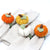 Pumpkin Napkin Rings - Set of Four Colors