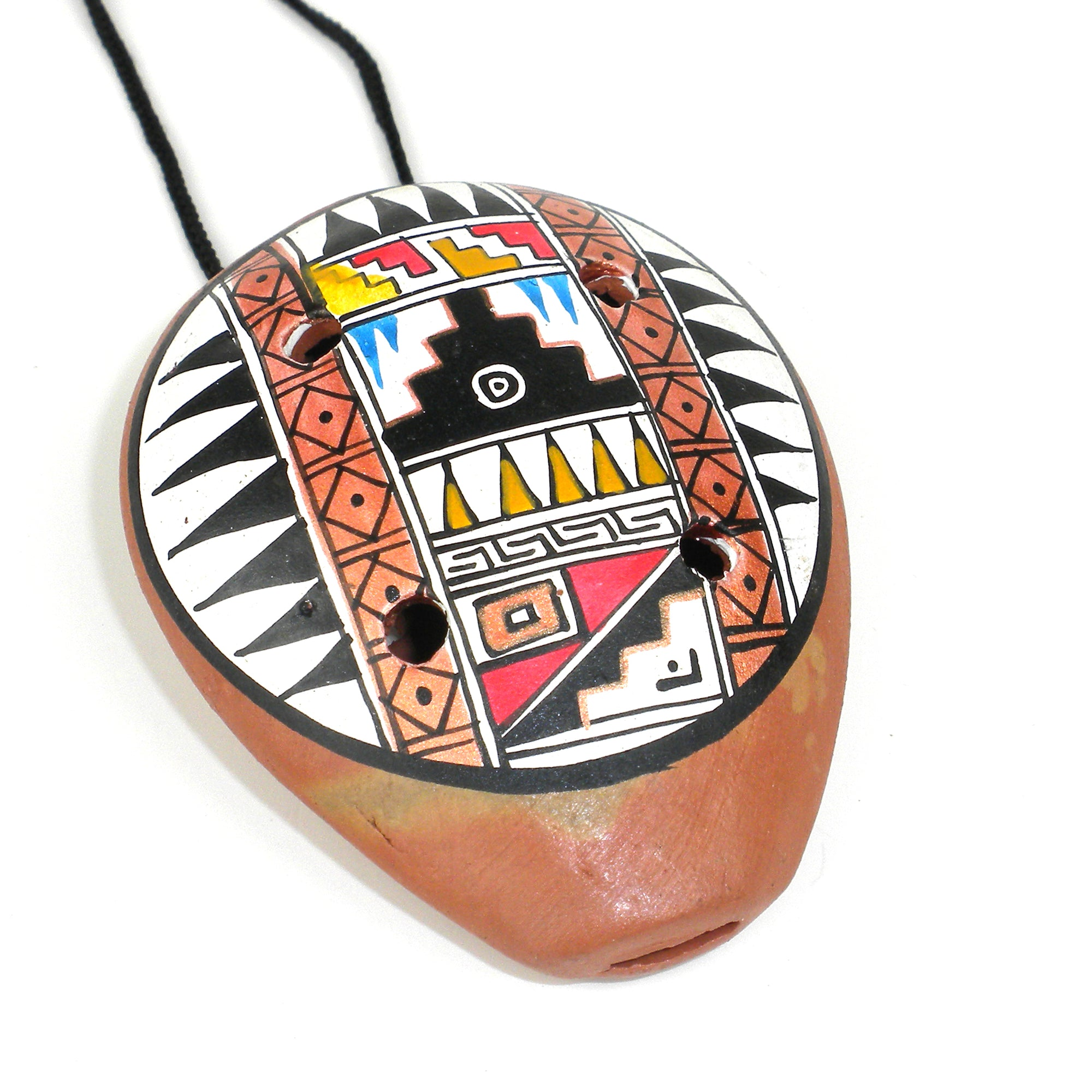 Traditional Ceramic Ocarina Necklace