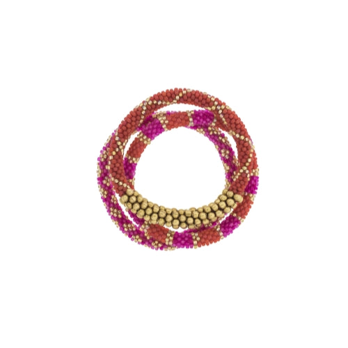 Statement Roll-On Bracelets, Carousel