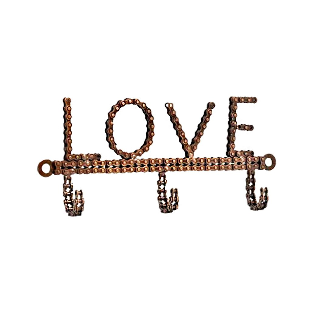 Bicycle Chain Love Hook