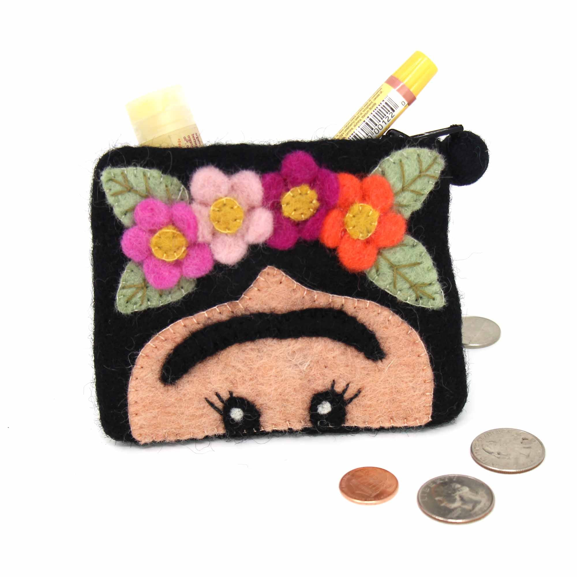 Handcrafted Freida Coin Pouch