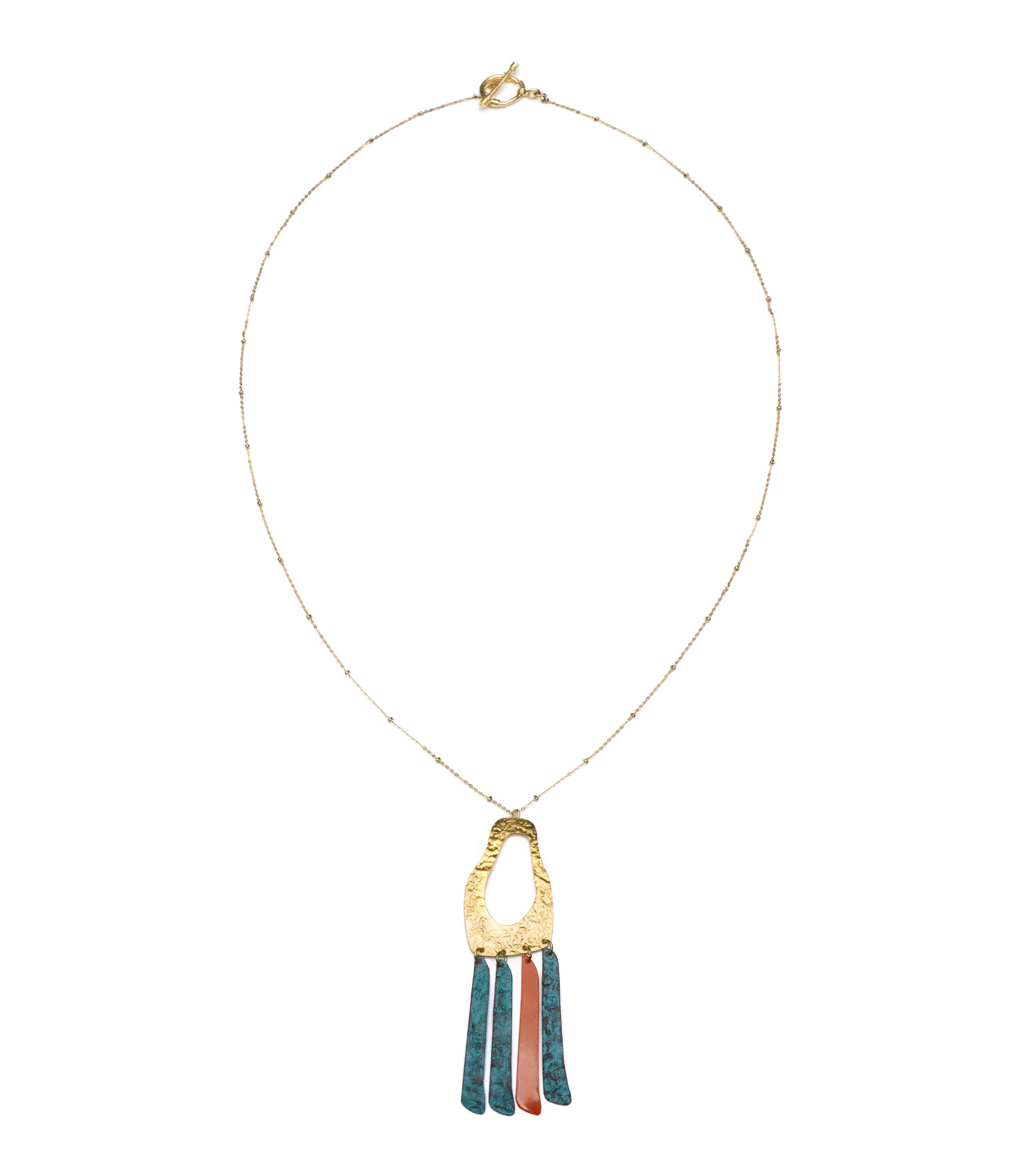 Nihira Necklace - Multi Footprint