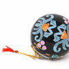 Handpainted Cat & Bird Ornaments, Set of 2