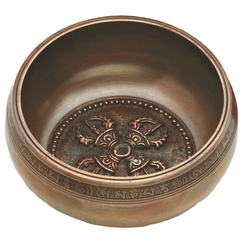 Bliss Singing Bowl Leather Striker