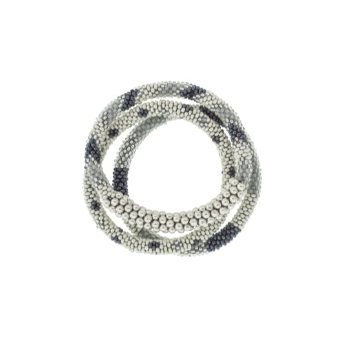 Statement Roll-On Bracelets, Grey Sailor