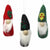 Set of Three Gnome Ornaments