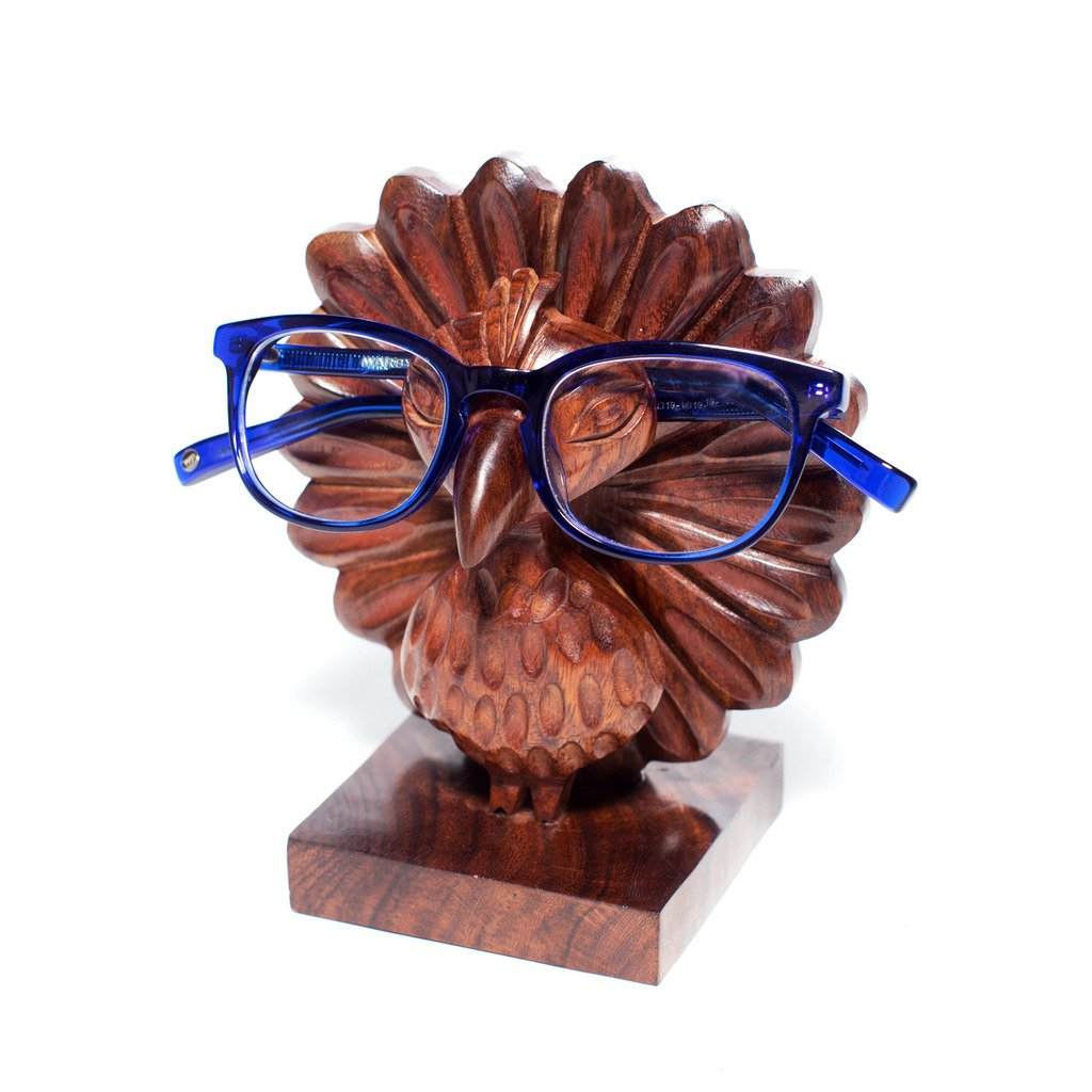 Peacock Eyeglass Holder  (E)