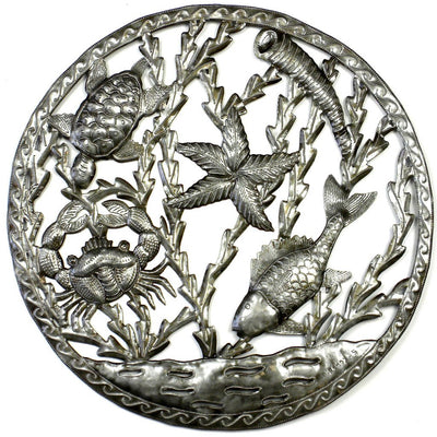 Sealife in Ring Wall Art