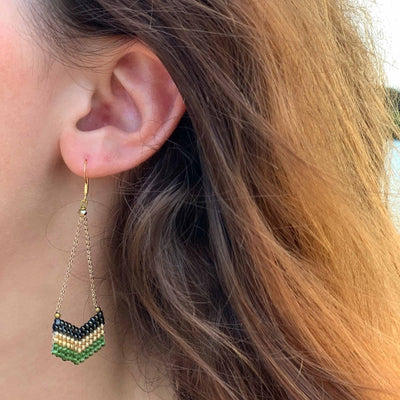 Earrings: Eve Verdant