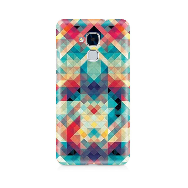 Ek Number Abstract Criss Cross Premium Printed Case For Huawei Honor 5c