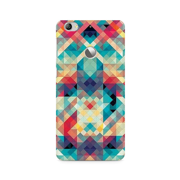 Ek Number Abstract Criss Cross Premium Printed Case For LeEco Le 1S