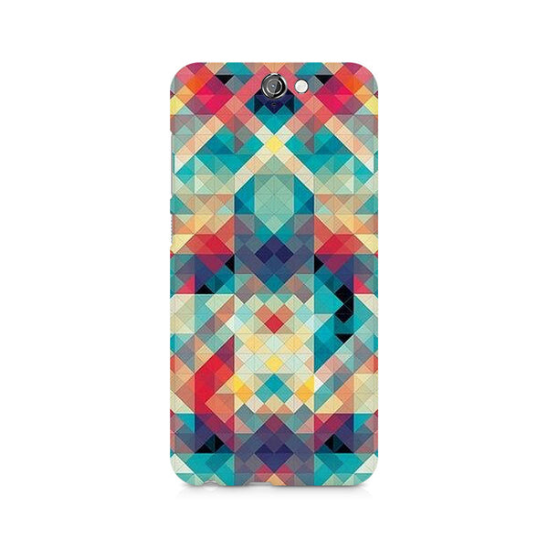 Ek Number Abstract Criss Cross Premium Printed Case For HTC One A9
