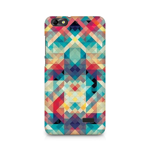 Ek Number Abstract Criss Cross Premium Printed Case For Huawei Honor 4C