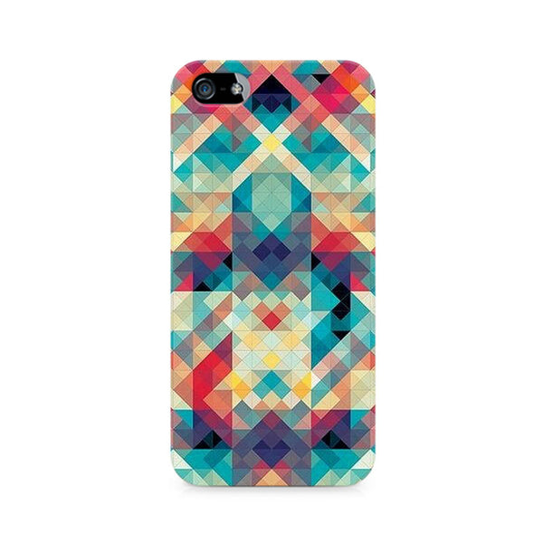 Ek Number Abstract Criss Cross Premium Printed Case For Apple iPhone 5/5s
