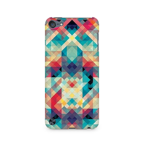 Ek Number Abstract Criss Cross Premium Printed Case For Apple iPod Touch 6