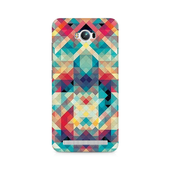 Ek Number Abstract Criss Cross Premium Printed Case For Asus Zenfone Max