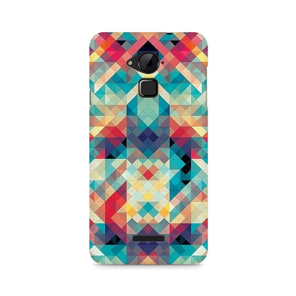 Ek Number Abstract Criss Cross Premium Printed Case For Coolpad Note 3