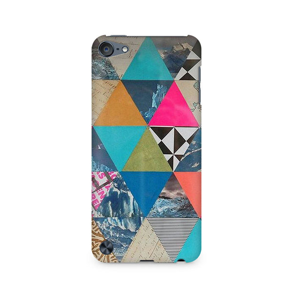 Ek Number Abstract Fusion Hex Premium Printed Case For Apple iPod Touch 6