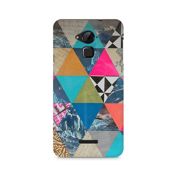 Ek Number Abstract Fusion Hex Premium Printed Case For Coolpad Note 3