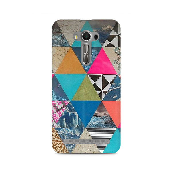 Ek Number Abstract Fusion Hex Premium Printed Case For Asus Zenfone 2 Laser ZE500