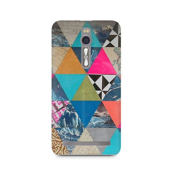 Ek Number Abstract Fusion Hex Premium Printed Case For Asus Zenfone 2
