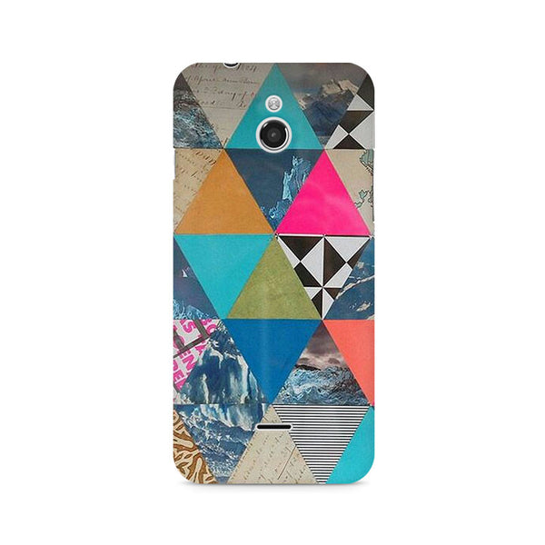 Ek Number Abstract Fusion Hex Premium Printed Case For InFocus M2