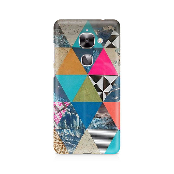 Ek Number Abstract Fusion Hex Premium Printed Case For LeEco Le 2