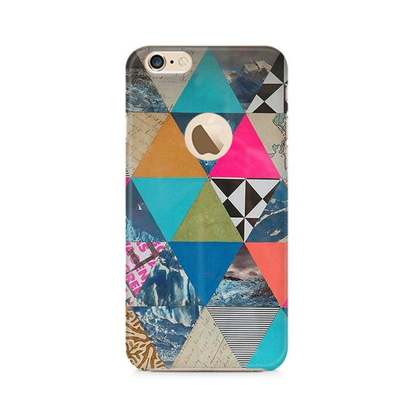 Ek Number Abstract Fusion Hex Premium Printed Case For Apple iPhone 6/6s with hole