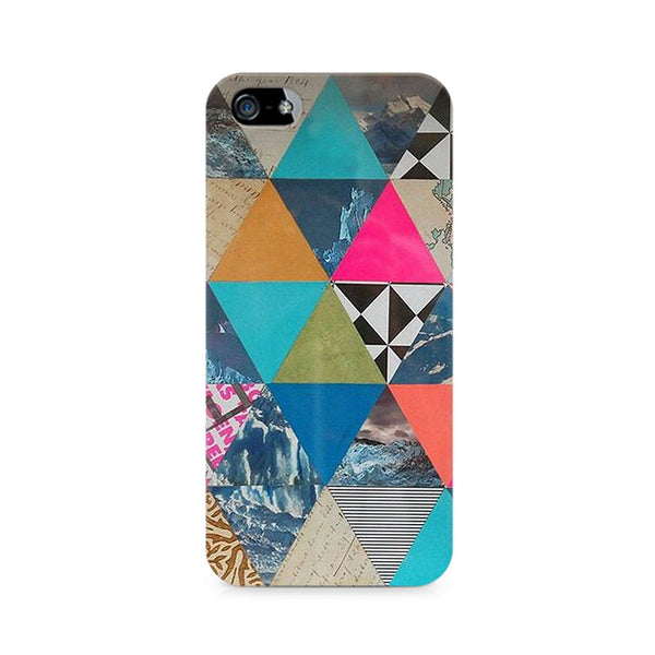 Ek Number Abstract Fusion Hex Premium Printed Case For Apple iPhone 5/5s