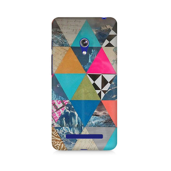 Ek Number Abstract Fusion Hex Premium Printed Case For Asus Zenfone 5