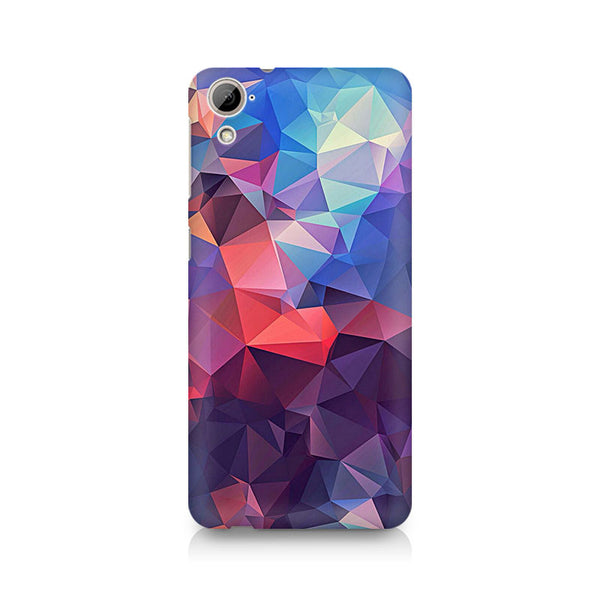 Ek Number Abstract Fusion Triangle Premium Printed Case For HTC Desire 826