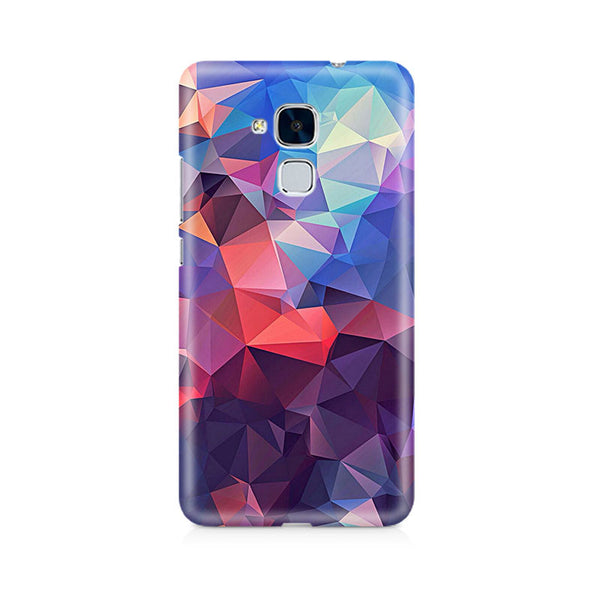 Ek Number Abstract Fusion Triangle Premium Printed Case For Huawei Honor 5c