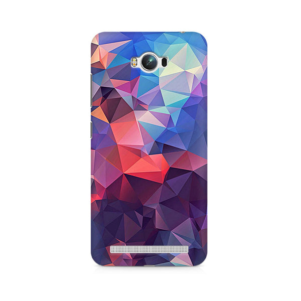 Ek Number Abstract Fusion Triangle Premium Printed Case For Asus Zenfone Max